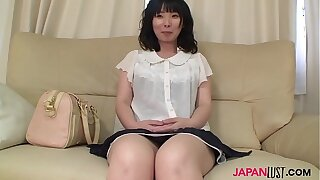 Of age Nozomi Iwahashi gets queasy pussy creampied