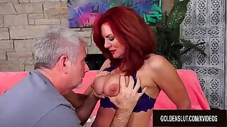Stunning Grown up Redhead Andi James Gets Strongly Plowed