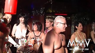 MMV Films wild German of age swingers party