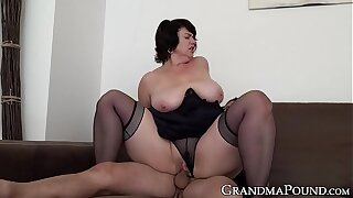 Mature babe pussy rim up with cock after blowjob