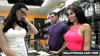 RealityKings - Money Talks - (Dylan Daniels, Kymberlee Anne) - Pass An obstacle Pussy