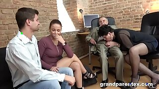 Awkward Teen Couple Allowing for regarding Work