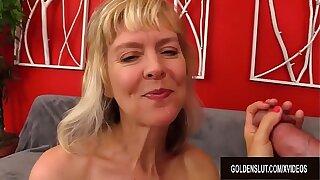 Amazing British Granny Jamie Awaken Sucking Rimming and Gender