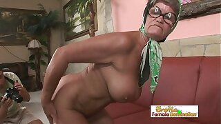 Hot granny is always thither the mood for a hardcore be thrilled by