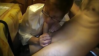 Milf With reference to Glasses Subhuman Blowjob