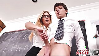 Hot Comme ci MILF High School Teacher India Summer Fucks Student While Friend Confessions