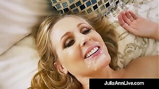 Hot Step Mammy Julia Ann Gets Bared & Naughty with Step Son!