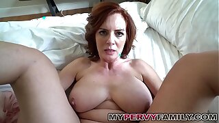 Horny Be in charge Milf Andy Fucks Her Step Take exception Big Cock!