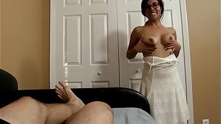 Sophia Rivera in Stepmom & Stepson Affair - My Best Beanfeast Present