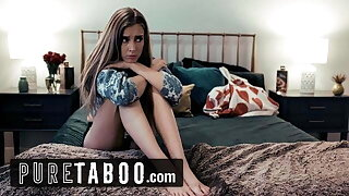 PURE TABOO Stepmom Offers Hesitant Teen apropos Lesbian Boss