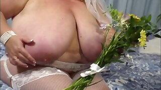 Huge saggy tits BBW Kelly James
