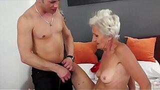 hot grandma  anal mating