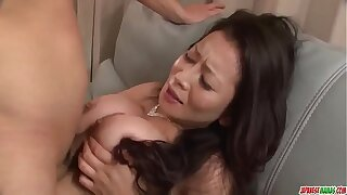 Sexy Asian mom reaches orgasm during mating adjacent to her step son - More at Japanesemamas com
