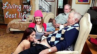 BLUE PILL MEN - Old Men Living Their Best Life With Gigi Flamez and Sally Squirt