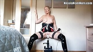 Homemade Amateur Mature Fit together Fucking Machinery Compilation