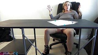 Miss Erin fucks her partisan after class