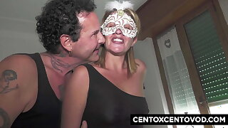Renzo and Lucia, swinger couple perform to Alex Magni and R