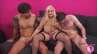 Porn Tinge - 2 hard dicks for Musa Libertina