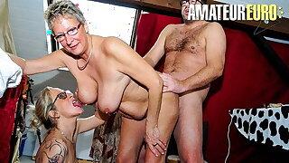 XXX OMAS (Ziska & Erna) Awesome Threeway With Two Crestfallen Women