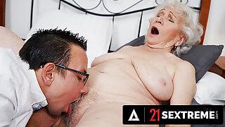 Big Dick Trestle Takes Granny To Pleasure Big apple