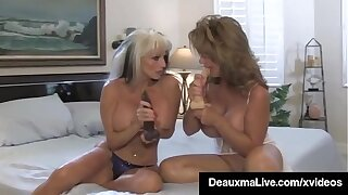 Cougar Deauxma Looks On As A Hubby Last analysis Fuck Sally D'Angelo!